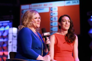 Holly Rowe interviews Breanna Stewart during the 2016 WNBA Draft presented by State Farm (Allen Kee/ESPN Images)