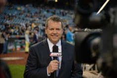 Buster Olney believes his skills reporting for ESPN's baseball telecasts will help him transition into a radio analyst's role tonight. (Scott Clarke/ESPN Images)