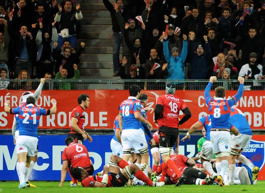 A Grenoble végrehajtotta a bravúrt: legyőzték a Toulont!