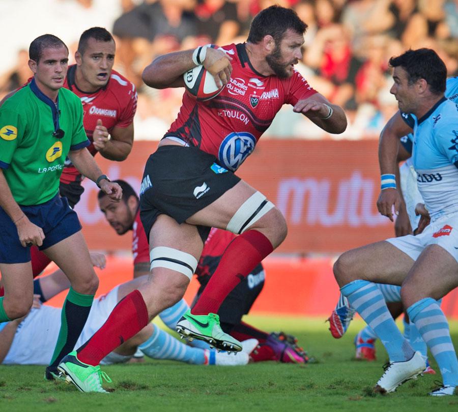 Danie Rossouw és a Toulon még mindig megállíthatatlan - forrás: www.espnscrum.com
