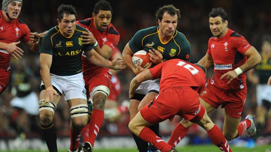 A Springboks ismét átlépett Walesen