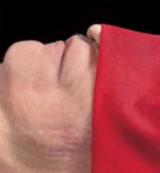 ROMEO CASTELLUCCI, SOCÌETAS. RAFFAELLO SANZIO IL VELO NERO DEL PASTORE. Liberamente ispirato alla novella di Nathaniel Hawthorne. 10 - 13 NOVEMBRE, TEATRO VASCELLO TEATRO. ITALIA, PRIMA ITALIANA. Foto: Andres Serrano Collection Lambert (Avignon)