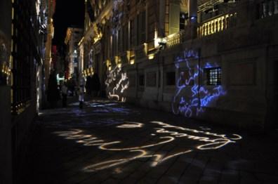 Via Garibaldi, Start Genova 2011. Photocredit Matteo Zappettini