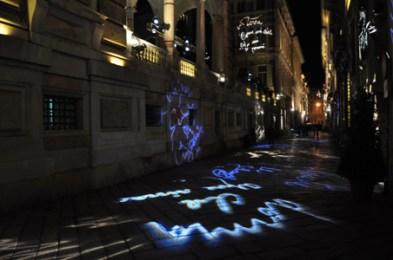 Via Garibaldi, Start Genova, 2011. Photocredit Matteo Zappettini