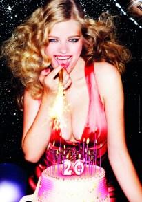 Cover Calendario LAvazza 2012 - Ellen von Unwerth