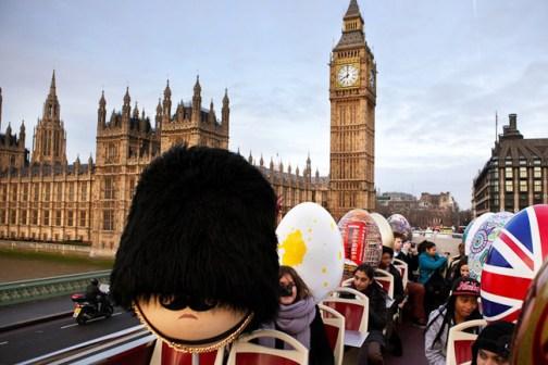 Eggs on tour