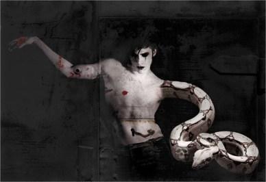 Monica Marioni, Il male,cm 100x145, 2011