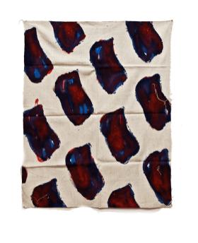 "Claude Viallat, ""Senza titolo"", 1973, N°068, 136x110 cm"