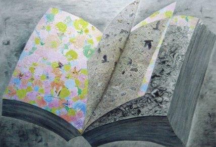 Fang Lijun 2009, 2009 olio su tela/oil on canvas, cm 250x360. Foto: Paolo Robino