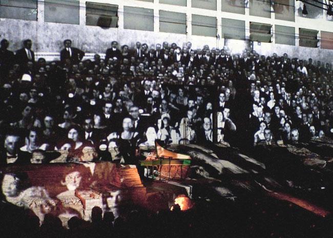 De bello Gallico – Enklave Rimini, 2011 teatro dell'ascolto / music-theatre photo Luca di Bartolo, Chiara Rainer