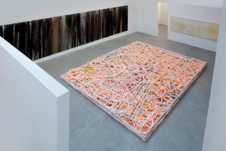 Massimo Bartolini, Starless 2011, luci, mixer luci, 500x500x30 cm. Courtesy Galleria Massimo De Carlo, Milano, foto di Thierry Depagne