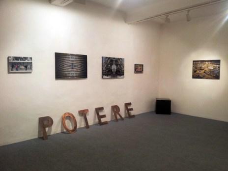 Veduta della mostra META-ARCHITETTURE di MARIA REBECCA BALLESTRA, Galleria Spazio Testoni, Bologna