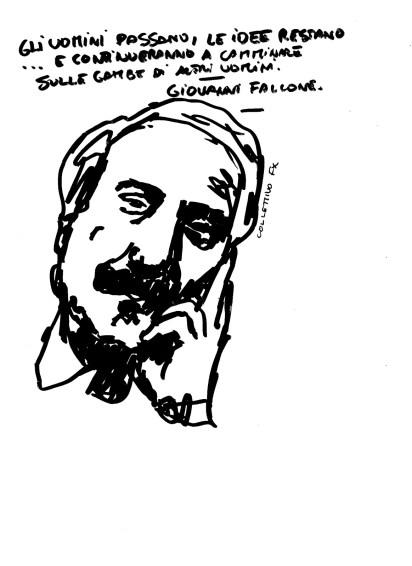 Collettivo FX, sticker, Giovanni Falcone
