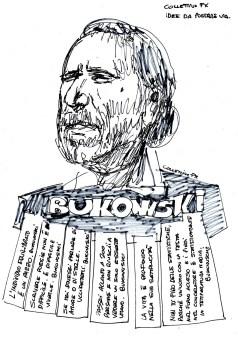 Collettivo FX, sticker, Bukowski