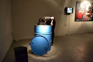 Performance di Francesca Romana Pinzari, Courtesy OltreDimore, Bologna