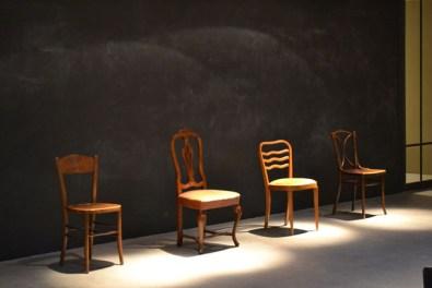 Il set dell'azione performativa di Silvia Giambrone, Courtesy OltreDimore, Bologna