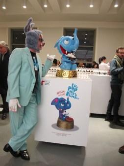 Massimo Giacon, inaugurazione della mostra The Pop Will Eat Himself