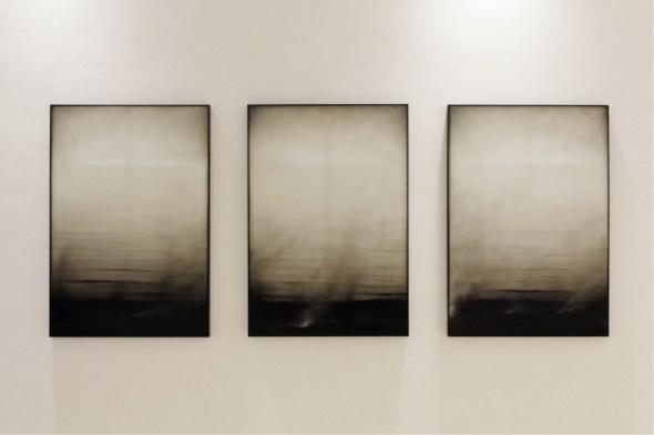 Ettore Frani, Mnemosyne, 2012, olio su tavola, 100x240 cm. Foto: Paola Feraiorni. Courtesy L'Ariete artecontemporanea