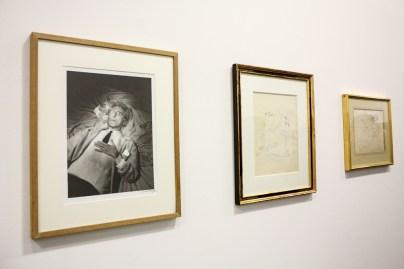 Lucien Clergue, Le poet Jean Cocteau, 1959 +Jean Cocteau, Le fumeur d'opium, 1953