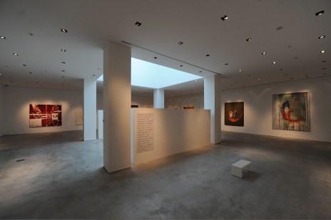 Julian Schnabel, veduta della mostra, CIAC Centro Italiano Arte Contemporanea, Foligno (PG)