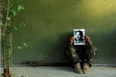 Jamal Penjweny, Saddam is Here, 2010, photographs, sizes variable, courtesy of the artist and RUYA Foundation