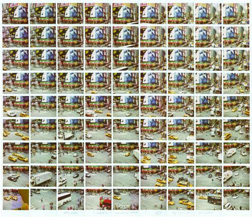 Jersey Sbarro&Nokia, 2012, mosaico polaroid, cm 87x76