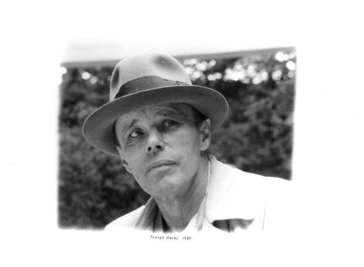 Enrico Cattaneo, Joseph Beuys, 1980