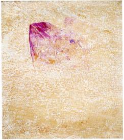 Ugo La Pietra, Minimo sperimentale simbolico (Gruppo del Cenobio), 1963, olio su tela, 78x68 cm, Archivio Ugo La Pietra