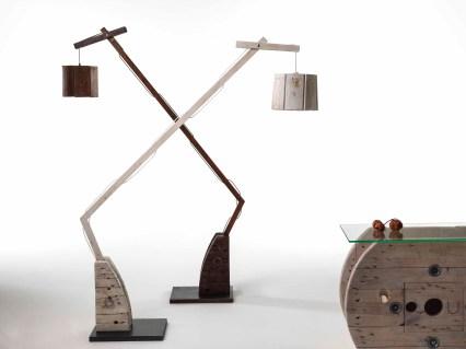 Sbobina|Design, Lampade Zivago, cm 160x130x30