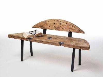 Sbobina|Design, Panca Godot, cm 67x136x40