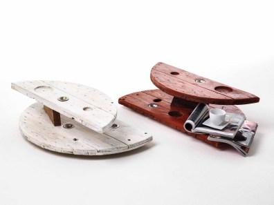 Sbobina|Design, Tavolini Jules & Jim, cm 20x40x80 ciascuno