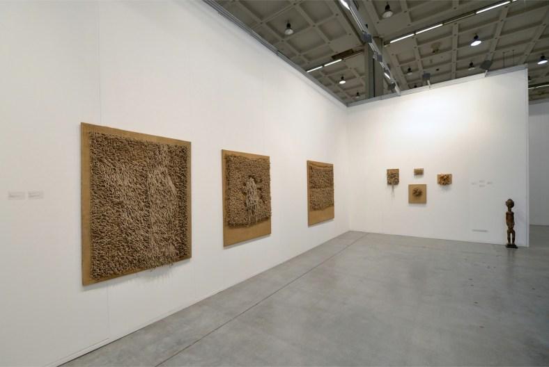 Jack Clemente. Archeologie di un recente passato, stand MiArt 2013, Studio Gariboldi, Milano-Bergamo