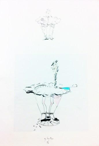 Ugo La Pietra, Posacenere Quattro passi di danza, 1992 Courtesy Ugo La Pietra