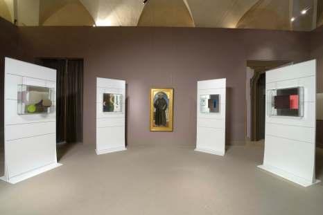 Simboli e geometria in Piero della Francesca. Una lettura di Chiara Dynys, veduta della mostra, Museo Poldi Pezzoli, Milano Foto Paolo Vandrash