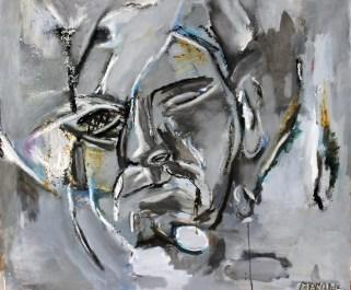 Piero Manai, 1982, 100x100 cm
