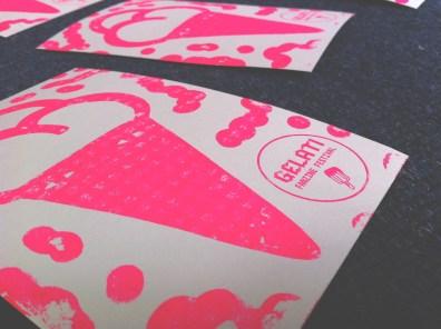 GELATI fanzine festival 2013. Preparazione flyer (2)