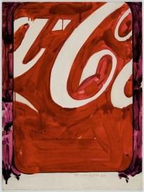 Mario Schifano, Propaganda, 1968, smalto su tela, cm 80x60 Courtesy Cortesi Contemporary, Lugano Photo Carlo Pedroli