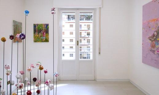 William Marc Zanghi. Strade Perdute, veduta allestimento, Galleria RizzutoArte, Palermo
