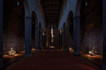 Wim Delvoye Lucca, Chiesa di San Cristoforo. © Studio Wim Delvoye