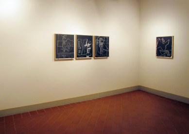 Le Corbusier. Opere da una collezione privata, veduta della mostra, Fondazione Cominelli, Cisano di San Felice del Benaco (BS)