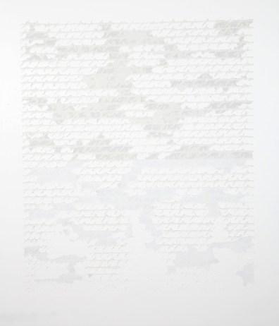 Alfredo Rapetti Mogol, Scrittura sulla pelle, acrilico su tela, cm 140x120