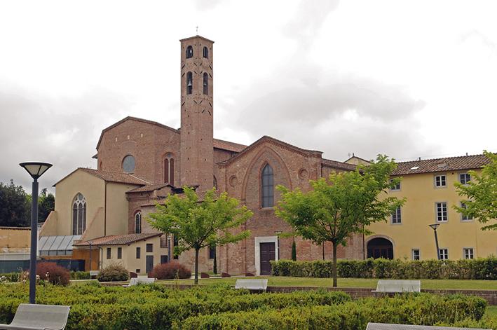 Abside e Cappella Guinigi, Lucca
