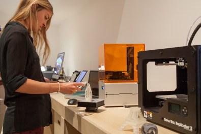 Live 3D Printing Factory al Design Museum, Londra