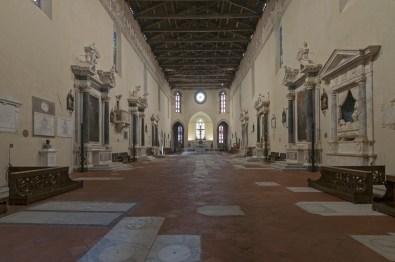 Interno, San Francesco, Lucca