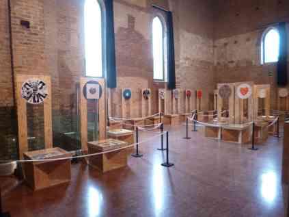Padiglione Tibet, veduta della mostra, Santa Marta Congressi - Spazio Porto, Venezia