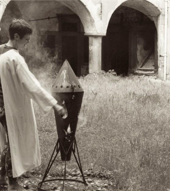 Immagine di un incenerimento