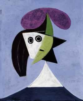 Pablo Picasso, Donna con cappello, 1935, olio su tela, cm 60x50 (AM 4393 P) © Georges Meguerditchian - Centre Pompidou, MNAM-CCI/Dist. RMN-GP