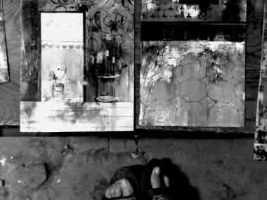Selena Maestrini (Bagno a Ripoli (FI), 1982), foto dei dipinti su carta