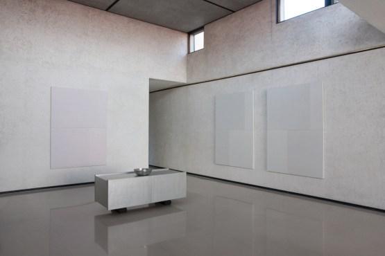 Rolando Tessadri, veduta della mostra, Casa Gallo, Palazzo Brusarosco Zaccaria, Vicenza Foto Giulio Malfer