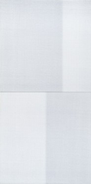 Tessitura n.11-12, 2013, tecnica mista su tela, 200x100 cm Foto Giulio Malfer